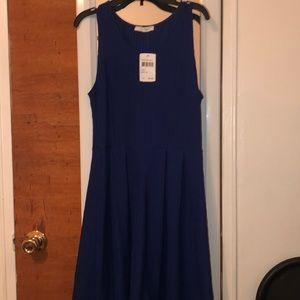 Never work royal  blue dress